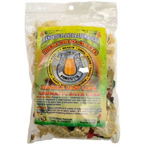 1 1/4oz Double Fast Luck ( ) aromatic bath herb