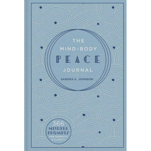 "4"" x 6"" Mind-Body Peace lined journal"